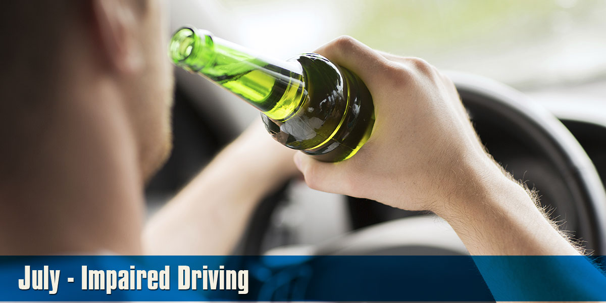 July - Impaired Driving